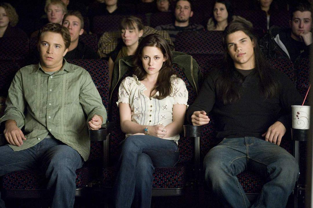 La saga Crepúsculo: Luna nueva : Foto Kristen Stewart, Michael Welch, Stephenie Meyer, Taylor Lautner