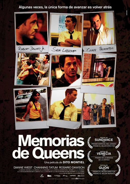 Memorias de Queens : cartel