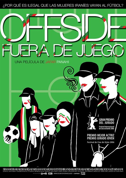 Offside (fuera de juego) : cartel