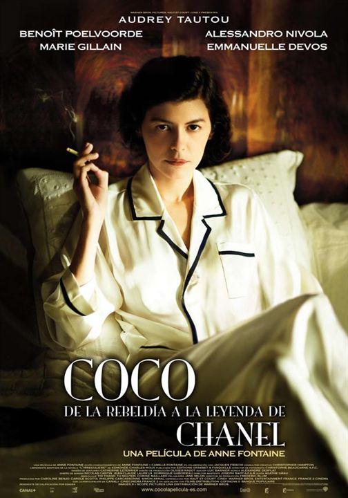 Coco: de la rebeldía a la leyenda de Chanel : Cartel