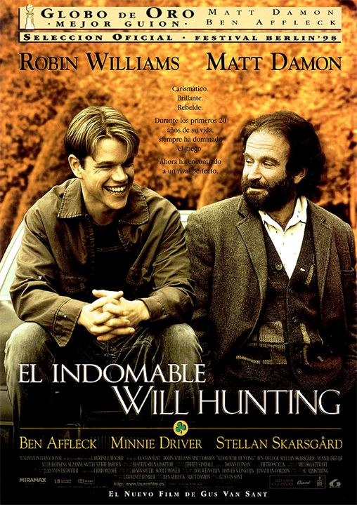 El indomable Will Hunting : Cartel
