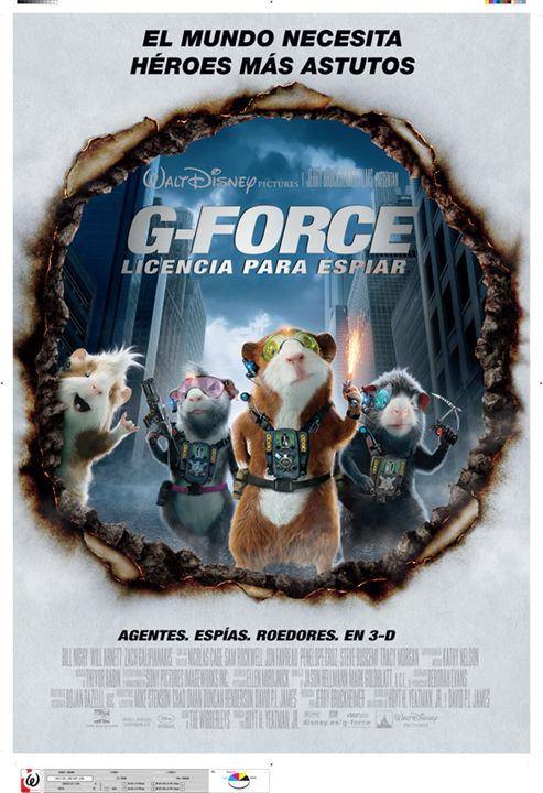G-Force: Licencia para espiar : Cartel