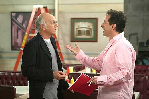 Resultado de imagen para Larry David y Jerry Seinfeld