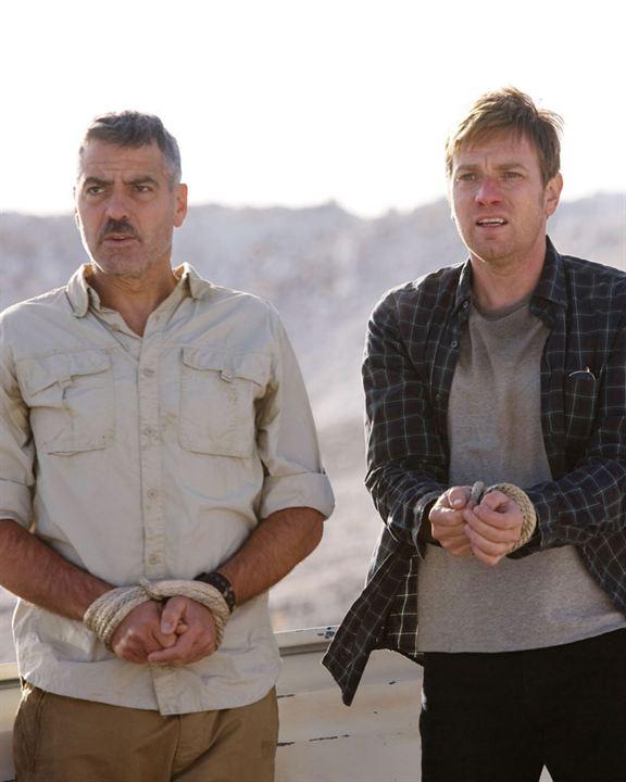 Los hombres que miraban fijamente a las cabras : Foto Ewan McGregor, George Clooney, Grant Heslov