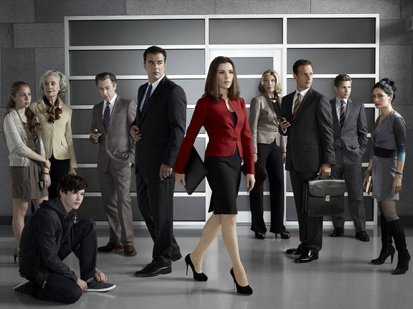 The Good Wife : Foto Alan Cumming, Archie Panjabi, Chris Noth, Christine Baranski, Graham Phillips