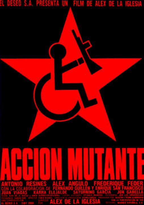 Acción mutante : Cartel