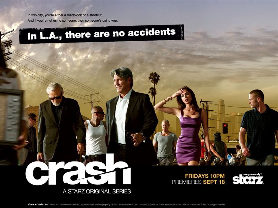 Crash : Foto Dennis Hopper, Eric Roberts, Jake McLaughlin, Moran Atias