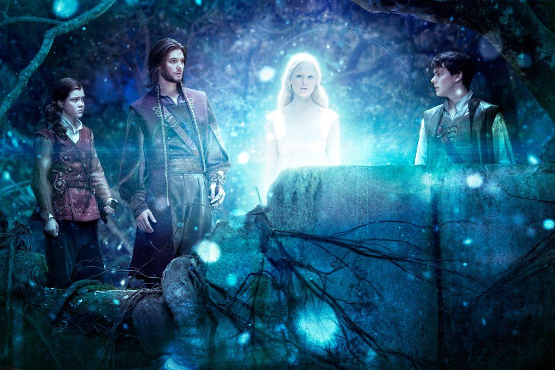 Las Crónicas de Narnia: La travesía del viajero del Alba : Foto Ben Barnes, Georgie Henley, Laura Brent, Skandar Keynes