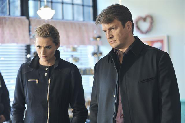 Foto Nathan Fillion, Stana Katic