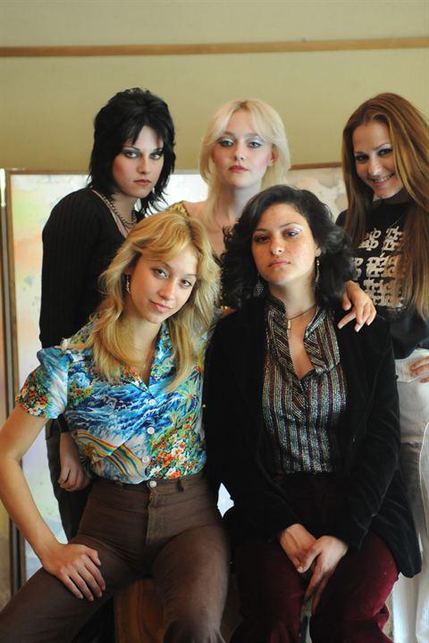 The Runaways : Foto Alia Shawkat, Dakota Fanning, Floria Sigismondi, Kristen Stewart, Scout Taylor-Compton