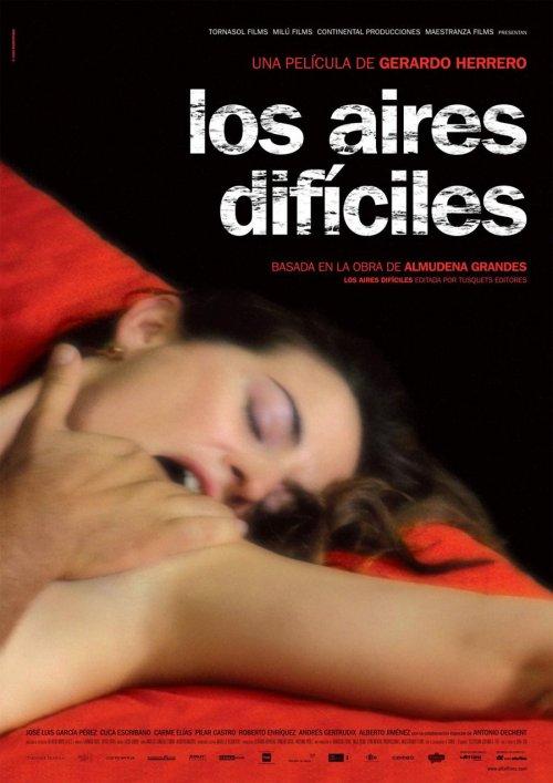 Los aires difíciles : cartel