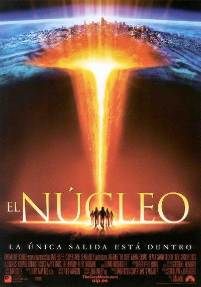 El núcleo : Cartel