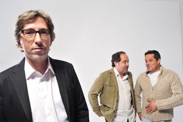 ¿Qué fue de Jorge Sanz? : Foto Eduardo Antuña, Jorge Sanz, Miguel Ángel Lamata