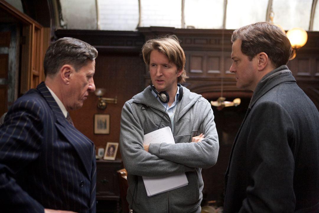 El discurso del rey : Foto Colin Firth, Geoffrey Rush, Tom Hooper