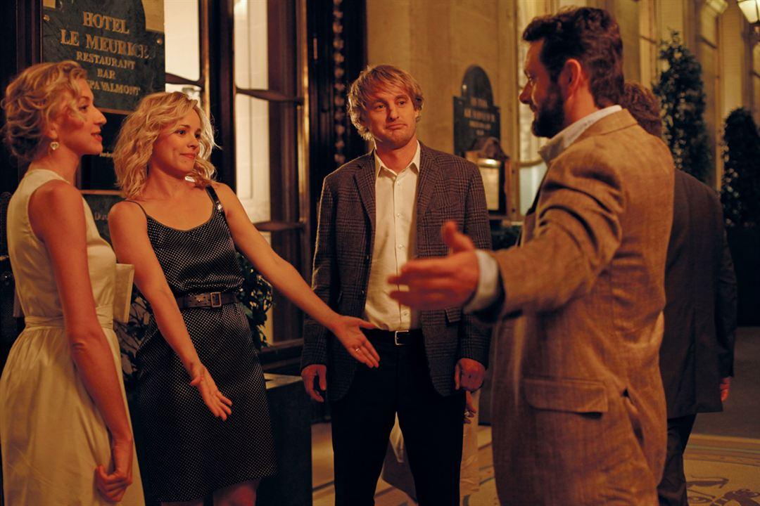 Midnight In Paris : Foto Michael Sheen, Nina Arianda, Owen Wilson, Rachel McAdams