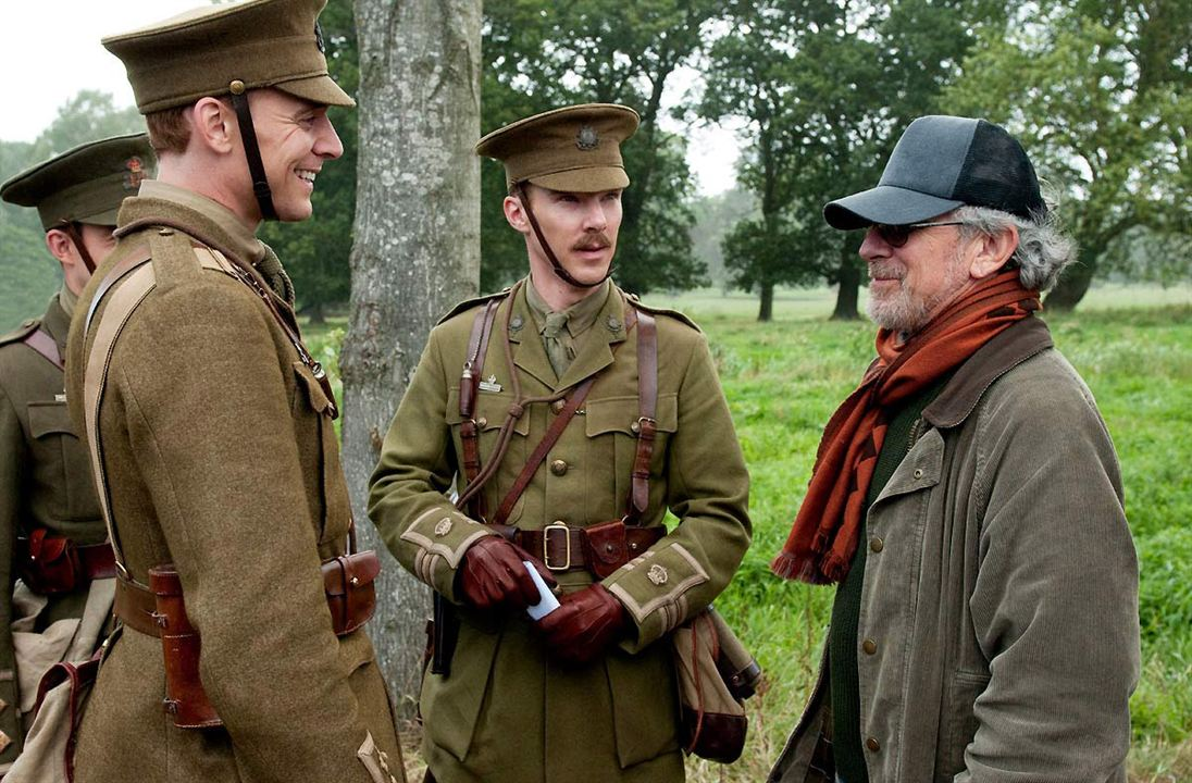War Horse (Caballo de batalla) : Foto Benedict Cumberbatch, Steven Spielberg, Tom Hiddleston