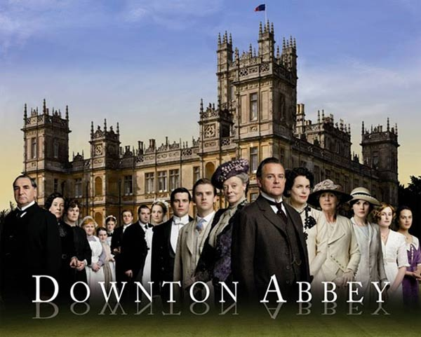 Downton Abbey : Foto Brendan Coyle, Dan Stevens, Elizabeth McGovern, Hugh Bonneville, Jessica Brown Findlay