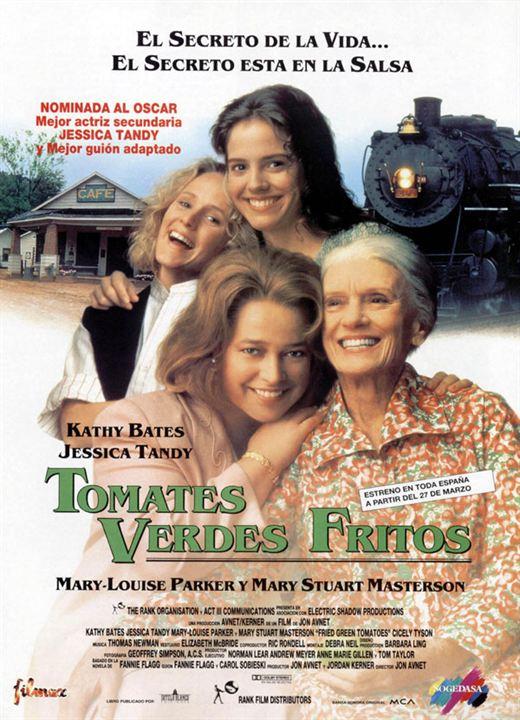 cartel de la pelicula tomates verdes fritos