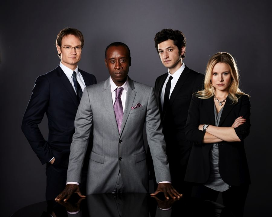 House of Lies : Foto Ben Schwartz, Don Cheadle, Josh Lawson, Kristen Bell