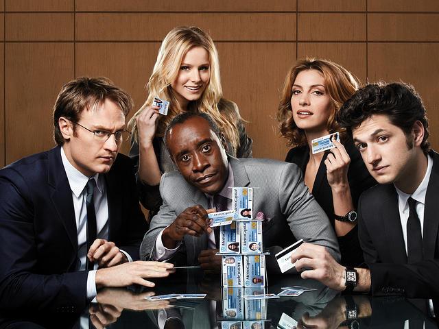 House of Lies : Foto Ben Schwartz, Dawn Olivieri, Don Cheadle, Josh Lawson, Kristen Bell