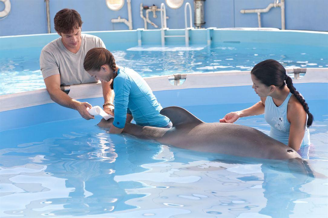 La gran aventura de Winter el delfín : Foto Charles Martin Smith, Harry Connick Jr