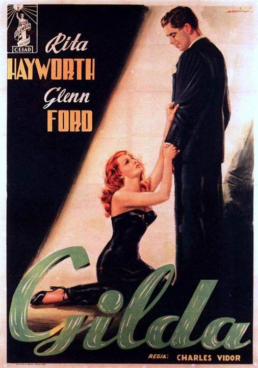 cartel de la pelicula gilda