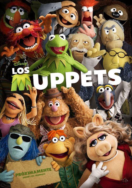 Los Muppets : Cartel