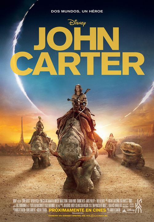 John Carter : Cartel