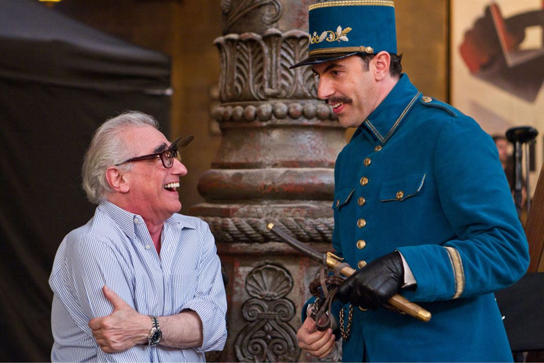 La invención de Hugo : Foto Martin Scorsese, Sacha Baron Cohen