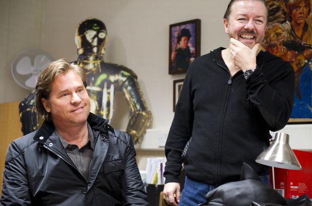 Foto Ricky Gervais, Val Kilmer