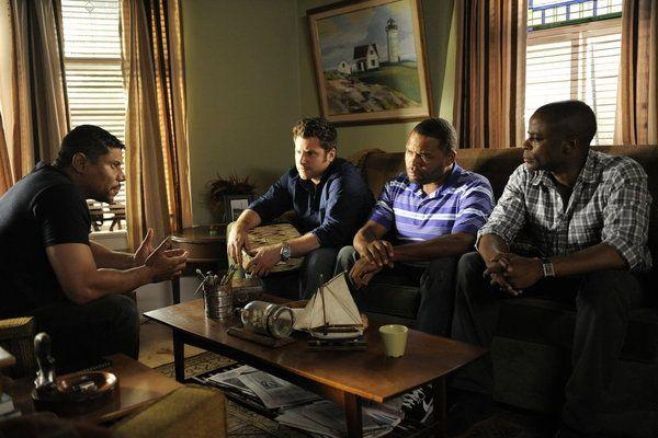 Foto Anthony Anderson, Dule Hill, James Roday, Stoney Jackson