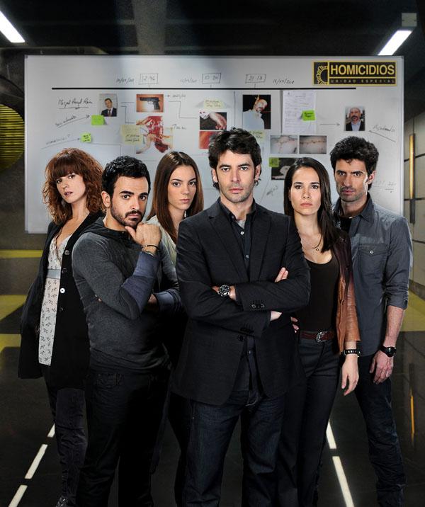 Homicidios : Foto Carlos García (V), Celia Freijeiro, Eduardo Noriega, Esmeralda Moya, Marián Aguilera