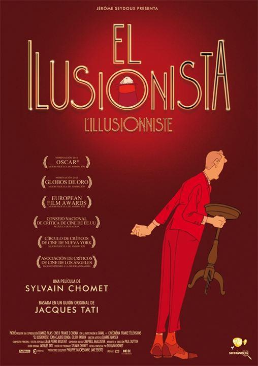 El ilusionista : cartel