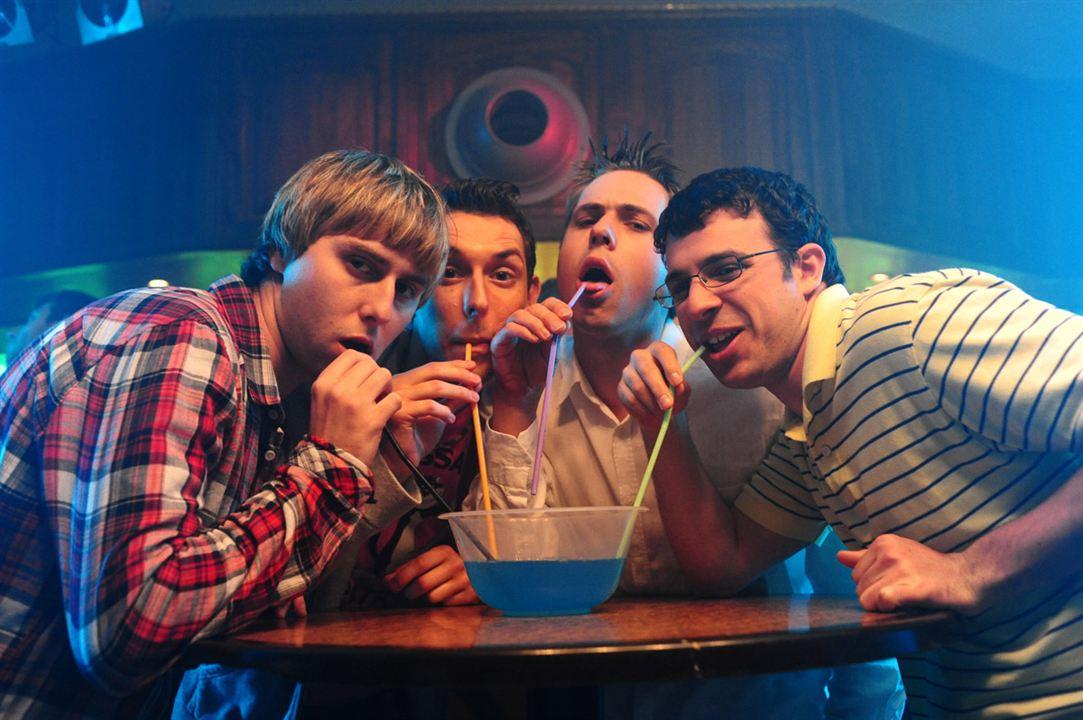 Supercutres : Foto Ben Palmer, Blake Harrison, James Buckley, Joe Thomas (XIX), Simon Bird