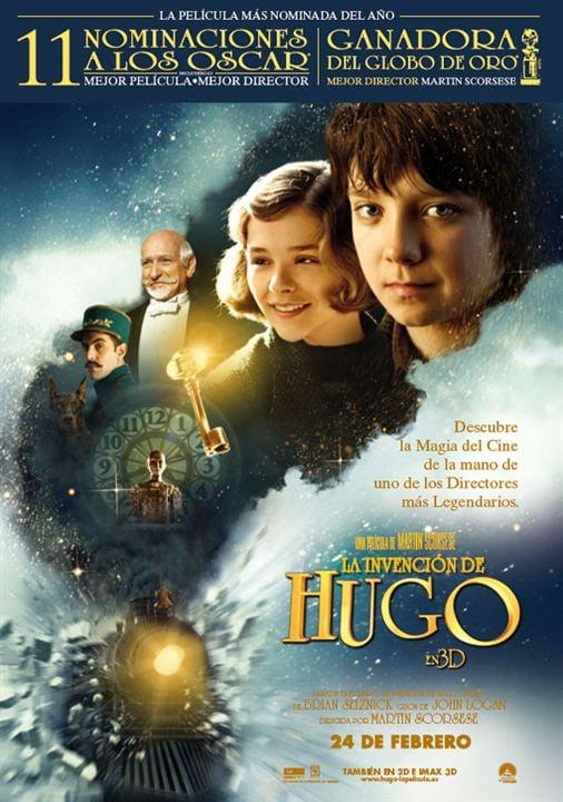 La invención de Hugo : cartel