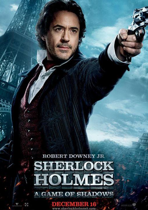 Sherlock Holmes: Juego de sombras : Cartel