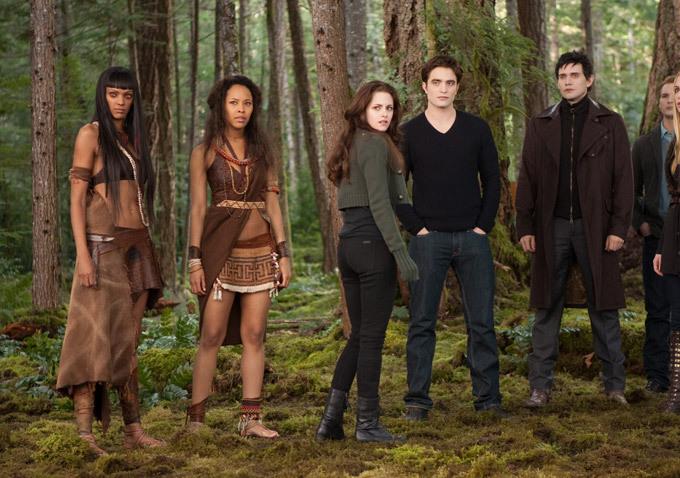La saga Crepúsculo: Amanecer - Parte 2 : Foto Christian Camargo, Judith Shekoni, Kristen Stewart, Peter Facinelli, Robert Pattinson