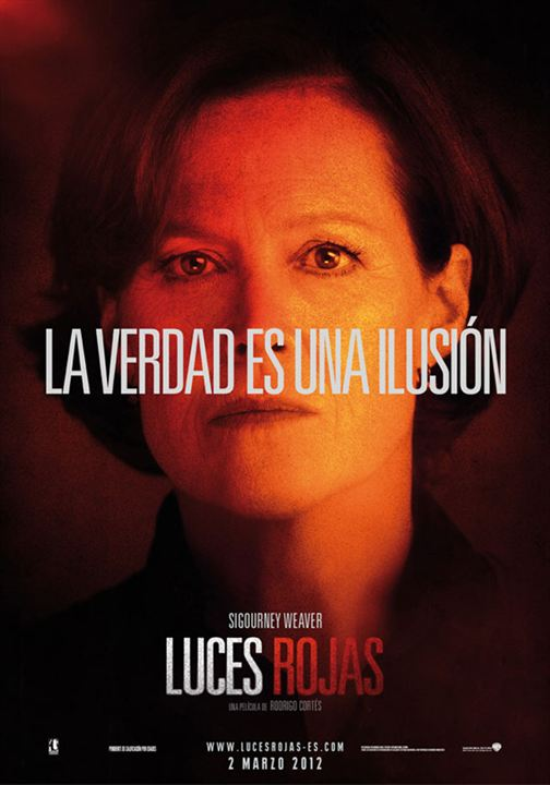 Luces rojas : Cartel