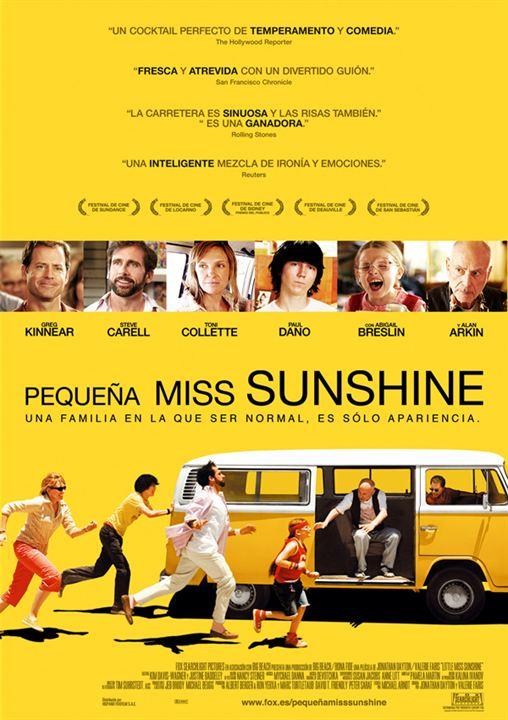 Pequeña Miss Sunshine : Cartel