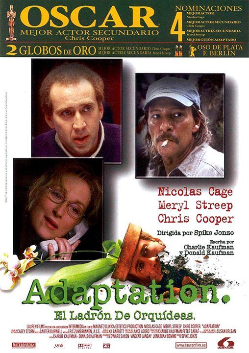 Adaptation (El ladrón de orquídeas) : Cartel
