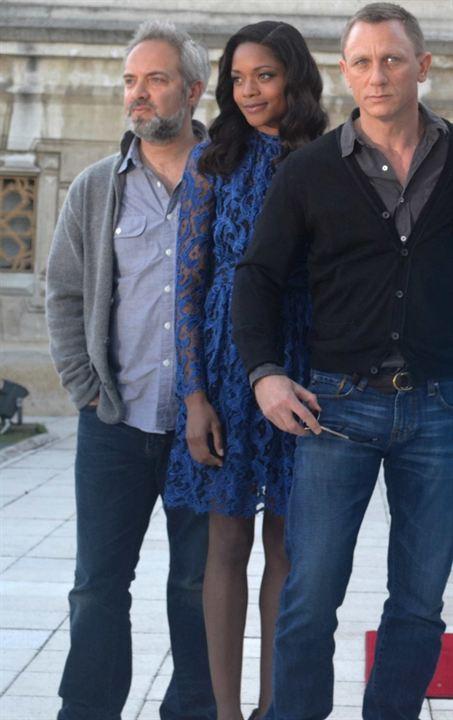 Skyfall : Foto Daniel Craig, Naomie Harris, Sam Mendes