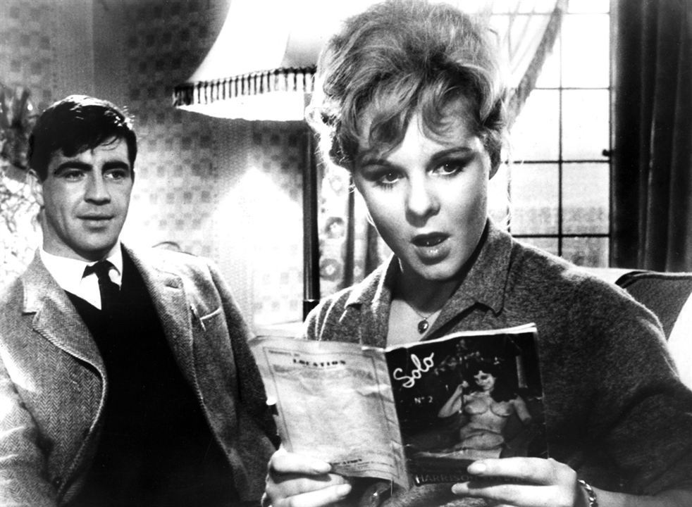 A Kind of Loving : Foto Alan Bates, June Ritchie