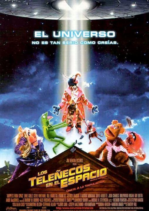 Los Teleñecos en el Espacio : cartel