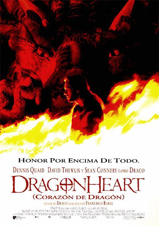 Dragonheart (Corazón de Dragón) : Cartel
