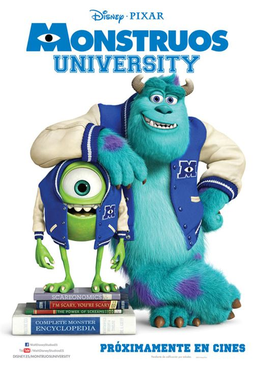 Monstruos University : Cartel