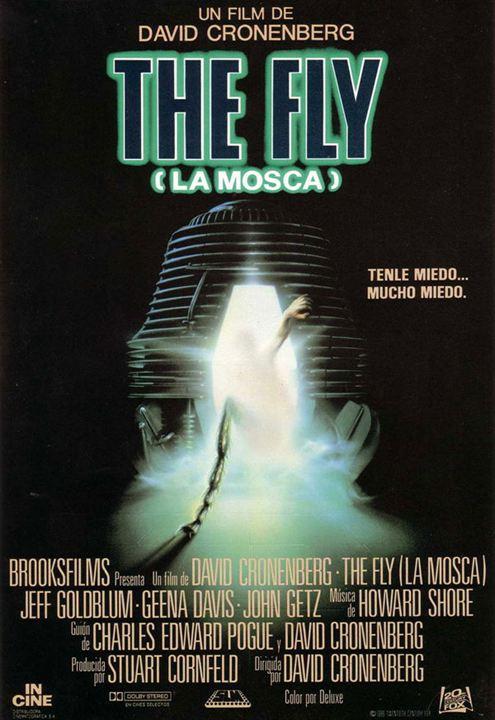 La mosca : cartel