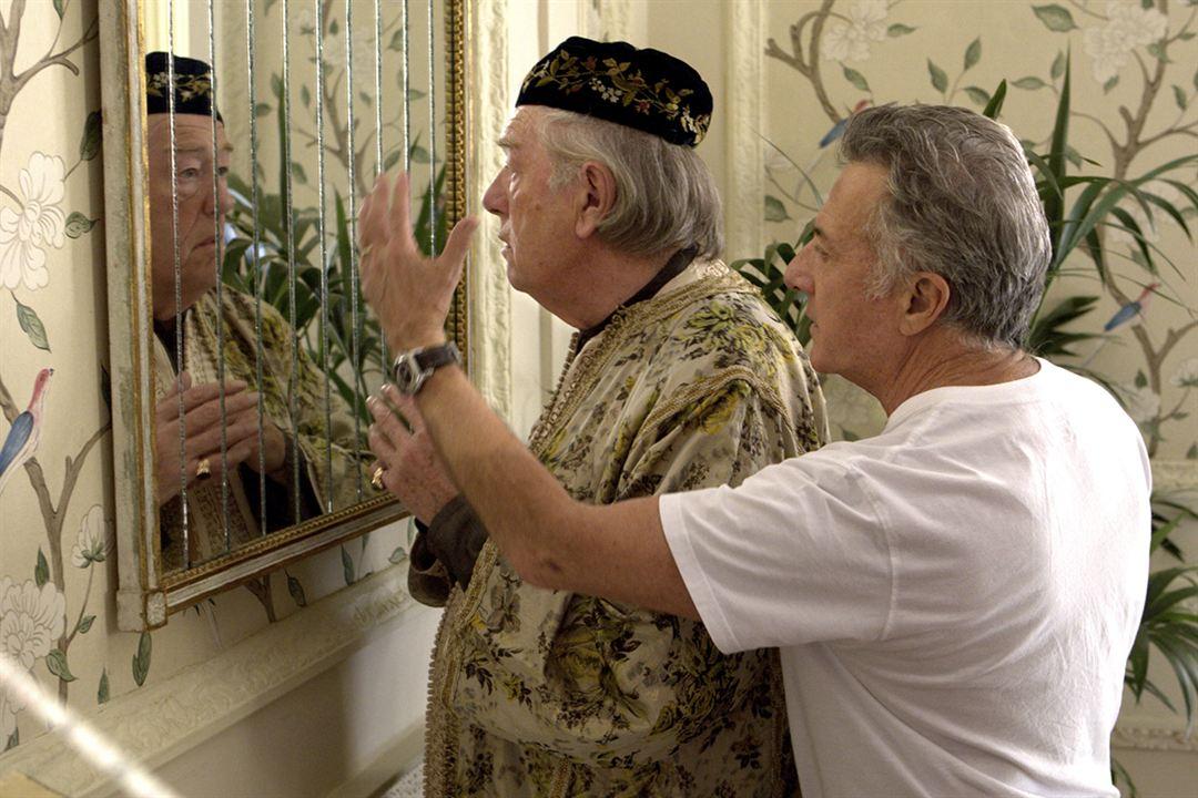 El cuarteto : Foto Dustin Hoffman, Michael Gambon