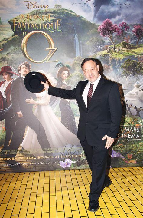 Oz: Un mundo de fantasía : Couverture magazine Sam Raimi