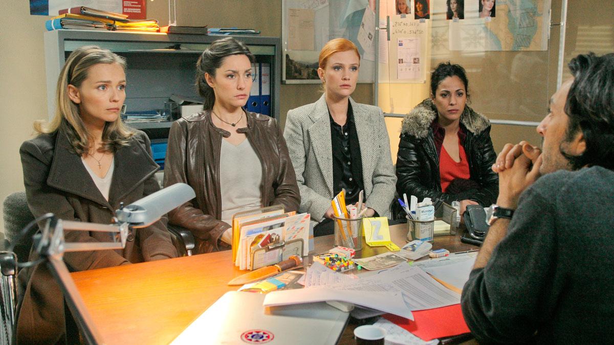 Foto Catherine Demaiffe, Claire Borotra, Léa Bosco, Olivier Sitruk, Samira Lachhab