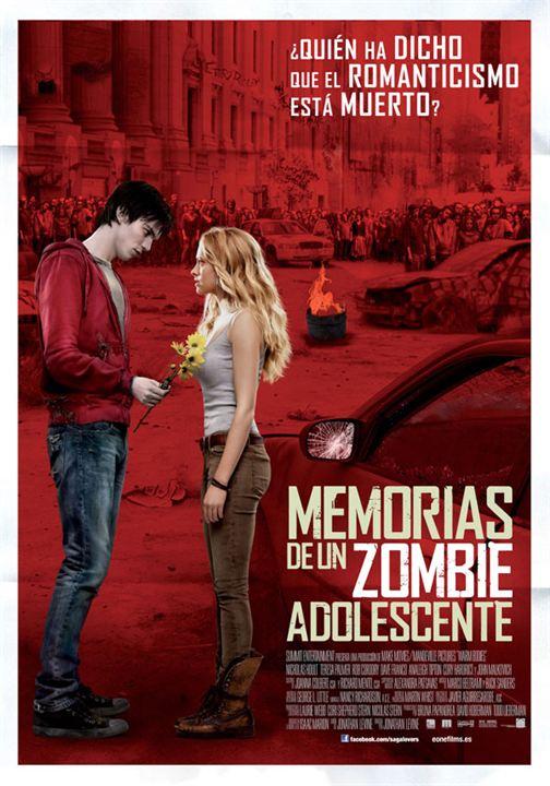 Memorias de un zombie adolescente : cartel